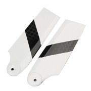 Generic Tarot 450 PRO RC Helicopter Part Carbon Fiber Tail Blade TL2330-02 One Piece