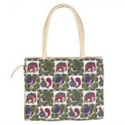 TheDecorous Kalamkari Multicolored stylish designer Handbag For Girls & Women Multicolor Shoulder Bag