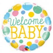 Welcome Baby Ballon