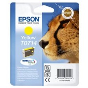Epson T07144011 Tintapatron Stylus D78, D92, D120 nyomtatókhoz, EPSON sárga, 5,5ml