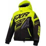FXR Boost Youth Jacket Black Yellow XL