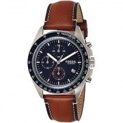 Fossil Sport 54 Chronograph Blue Dial Mens Watch-CH3039