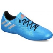Adidas MESSI 16.4 IN Football Shoes For Men(Blue)