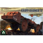Takom 1/35 WWII German Super Heavy Mine Cleaning Vehicle Krupp Raumer S No. 2053