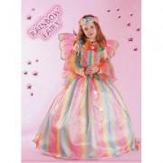 Costume Rainbow Fairy tg. 5/6 anni