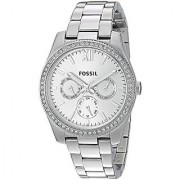 Fossil Analog Silver Dial Womens Watch-ES4314