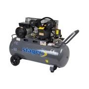 Stager - HM-V-0.25-100L - Compresor, cu ulei, 2200 W, 100 l, 250 l/min, 8 bar, monofazat