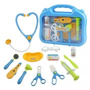Yoptote Doctor kit Pretend Play Medical Playset Role Game for Kids Boys Girls 3 Years Old and Up
