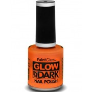 Glow in The Dark Nail Polish/Nagellack 12 ml - Neon Orange