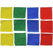 GSI Pack of 12 Toss Bean Bags for Activity Games and Primary Education