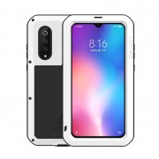 LOVE MEI Shockproof Dropproof Dustproof Case for Xiaomi Mi 9 - White