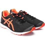 Asics GEL - IMPRESSION 9 Running Shoes For Men(Black, Orange)