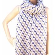RAYFLECTOR Luxusní šátek pruhovaný
