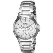 Casio Analog White Dial Mens Watch-Mtp-V300D-7Audf