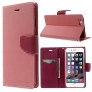 Mercury Apple iPhone 6 Plus 6s Plus Mercury Stand Case Hoesje Lichtroze