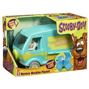 Scooby Doo Mystery Machine Playset With Fred Figure
