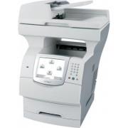 Multifunctional Refurbished Lexmark X644e, laser alb-negru, Fax, A4, 21 ppm, Duplex, ADF, Retea