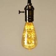 "Barcelona LED Ampoule LED E27 2W ""ST64 Firework Gold"" - Barcelona LED"