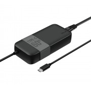 Notebook Power Adapter, TRUST Moda Universal, 60W, USB-C Charger, Black (21478)
