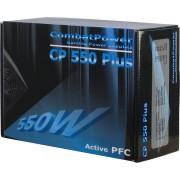 Inter-Tech 550W Combat Power 550W Nero alimentatore per computer