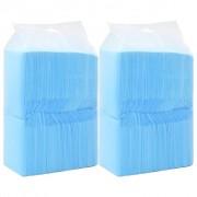 vidaXL Hygienické podložky pre psov 200 ks 90x60 cm netkaná textília