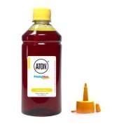 Aton Tinta para Epson L805 L-805 Yellow Fotográfica Aton Corante 500ml