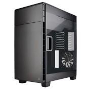 Gabinete Corsair Carbide 600C negro CC-9011079-WW sin fuente