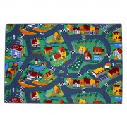 AK Sports Play Mat Village Street 140x200 cm 0309004