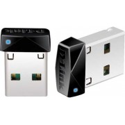 Mrežna kartica adapter USB2.0, D-LINK DWA-121, 802.11b/g/n, nano adapter, za bežičnu mrežu