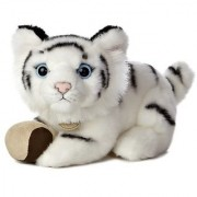 Aurora World Miyoni Tots White Tiger Cub Plush with Ball 9