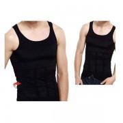 Slim N Lift férfi karcsúsító trikó fekete M - fekete