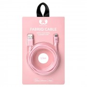 Fresh 'N Rebel Fabriq Cable with Lightning Connector - 1,5m Cupcake
