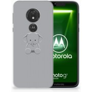 Motorola Moto G7 Power Uniek TPU Hoesje Baby Olifant