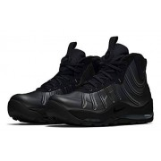 Nike Air Bakin Posite para Hombre, Black/Anthracite-Black-Black, 12 US