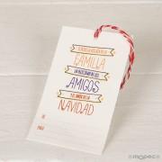 Tarjetón Navidad pack 25 unid
