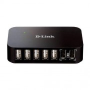D-link Dub-h7 7-port Usb 2.0 Hub With 2 Fast Charge Ports