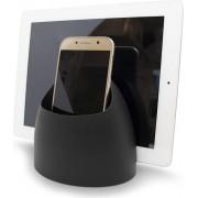 J-me Podstawka pod telefon lub tablet Hub czarna