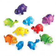 Learning Resources Snap-n-Learn Matching Dinos, 18 Pieces