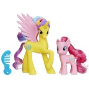 My Little Pony Friendship is Magic Cutie Mark Magic Princess Gold Lily & Pinkie Pie Figure 2-Pack