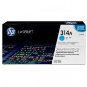 HP Originale Color LaserJet 3000 DN Toner (314A / Q 7561 A) ciano, 3,500 pagine, 2.07 cent per pagina