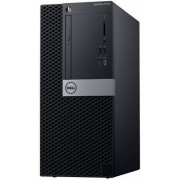 Calculator Sistem PC Dell OptiPlex 5070 MT (Procesor Intel® Core™ i7-9700 (12M Cache, up to 4.70 GHz), Coffee Lake, 8GB, 256GB SSD, Intel® UHD Graphics 630, Linux, Negru)