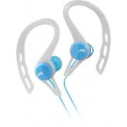 JVC - Wired Ear Clip-On Earbud Headphones - Blue