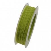 Zsinór textil 2mmx10m zöld