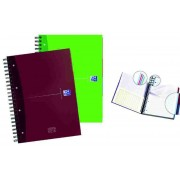 Caiet A4, spirala dubla, 120 file - 90g/mp, coperta carton, OXFORD Essentials Europeanbook - dictando
