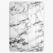 Kryt iSaprio Smart Cover na iPad - White Marble - iPad 9.7″ (2017-2018)