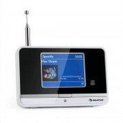 auna iAdapt 320 Internetradio-Adapter WLAN DAB/DAB+ UKW/MW TFT-Display weiß