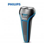 Philips Electrice Shaver S116 rotativo recargable para el lavado de cuerpo entero de maquinilla de afeitar eléctrica para hombre con soporte de batería Ni MH mojado y mojado(Philips S116)