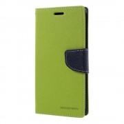 Mercury Pouzdro / kryt pro Samsung Galaxy S7 EDGE - Mercury, Fancy Diary Lime/Navy