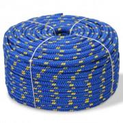vidaXL paadiköis polüpropüleenist 14 mm, 250 m, sinine