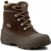 Cizme de zăpadă THE NORTH FACE - Youth Chilkat Lace II T92T5RRE2 Demitasse Brown/Cub Brown